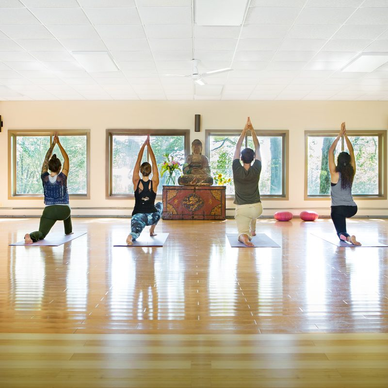 Yoga Options at Menla Retreat and Dewa Spa in Phoenicia, New York