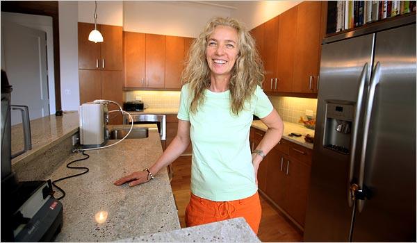 Jill Pettijohn at Menla Retreat and Dewa Spa in Phoenicia, New York