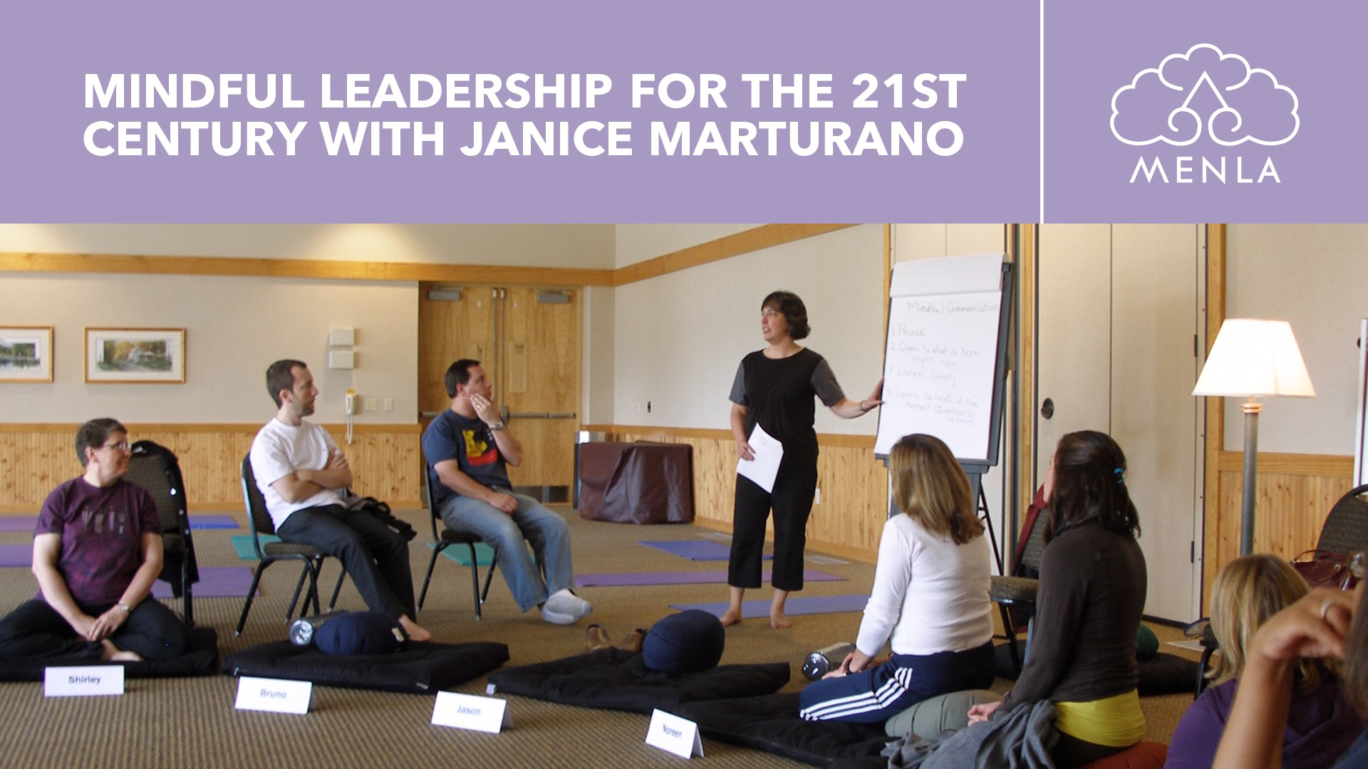 Mindful Leadership for the 21st Century with Janice Marturano April 22 - 26, 2020 at Menla Retreat and Dewa Spa in Phoenicia, New York