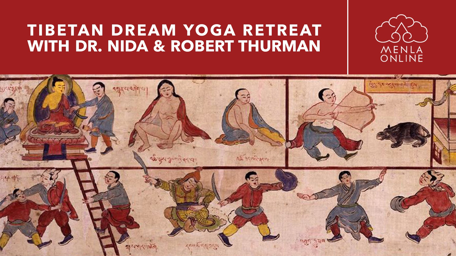 Tibetan Dream Yoga: An Online Retreat with Dr. Nida Chenagtsang and Robert A.F. Thurman May 1st - May 3rd, 2020 Presented by Tibet House US   Menla Online & Pure Land Farms https://bit.ly/DreamYogaOnline